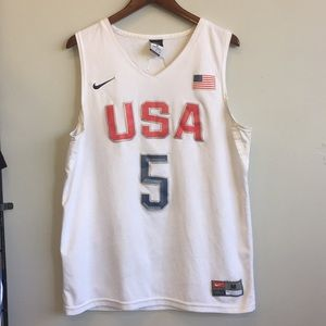 Nike USA Durant #5 Jersey